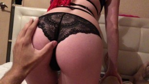 KristinASS / Sexy Russian Teen Sucks my Cock POV Blowjob Cumshot Perfect