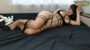 Tied Webcam Girl