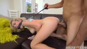 Hot Teen Gag first Time Kimberly Moss Gets Handled like a Great Lil' Bitch