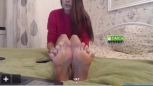 Russian Teen Feet