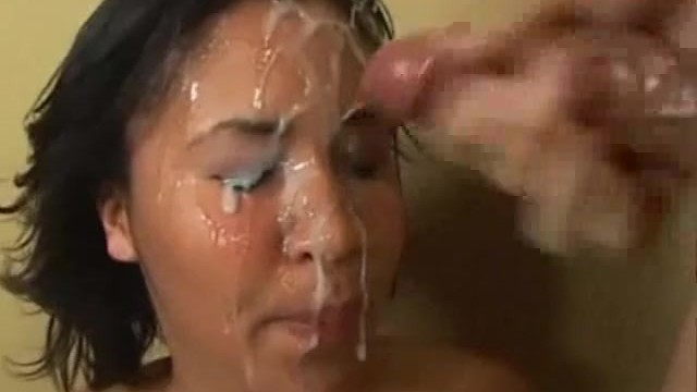 Sperm on a Young Face !!!