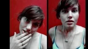 Hot Hairy Nettie Harris gives Amazing Jerk off Instructions