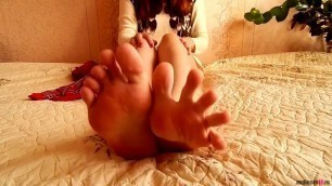 Russian Sexy Long Toes