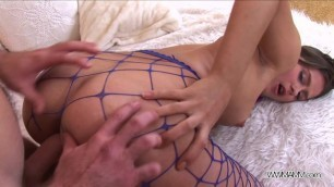 Teenyplayground - Blue Nylons Rocks said Teen Fucked Hard with Big Cock