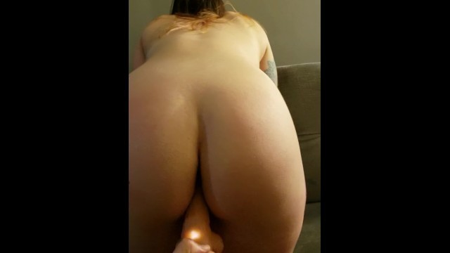 Teen Girl Gets Fucked Hard with Vibrating Dildo