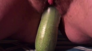 Teen Trans Boy Anal Fucks Veggies