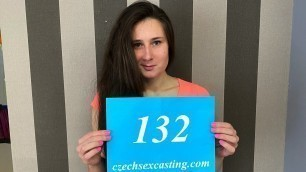 Sweet brunette up for spicy casting